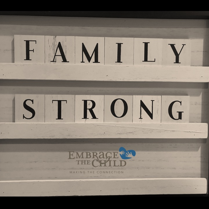Family Strong: The Power of Our Work.